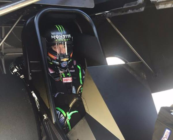 Brittany Force completes successful test of new John Force