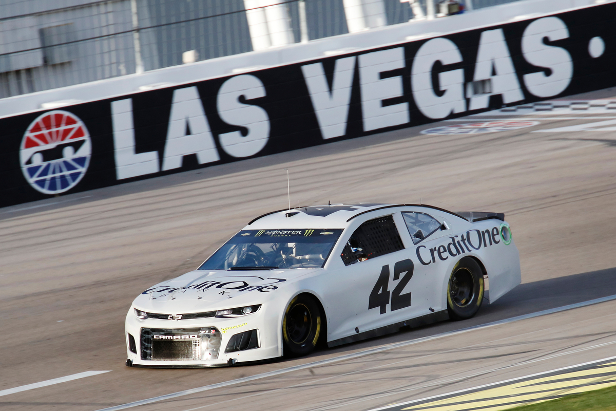 Larson fastest for second straight day during nascar for Las vegas motor speedway open track days