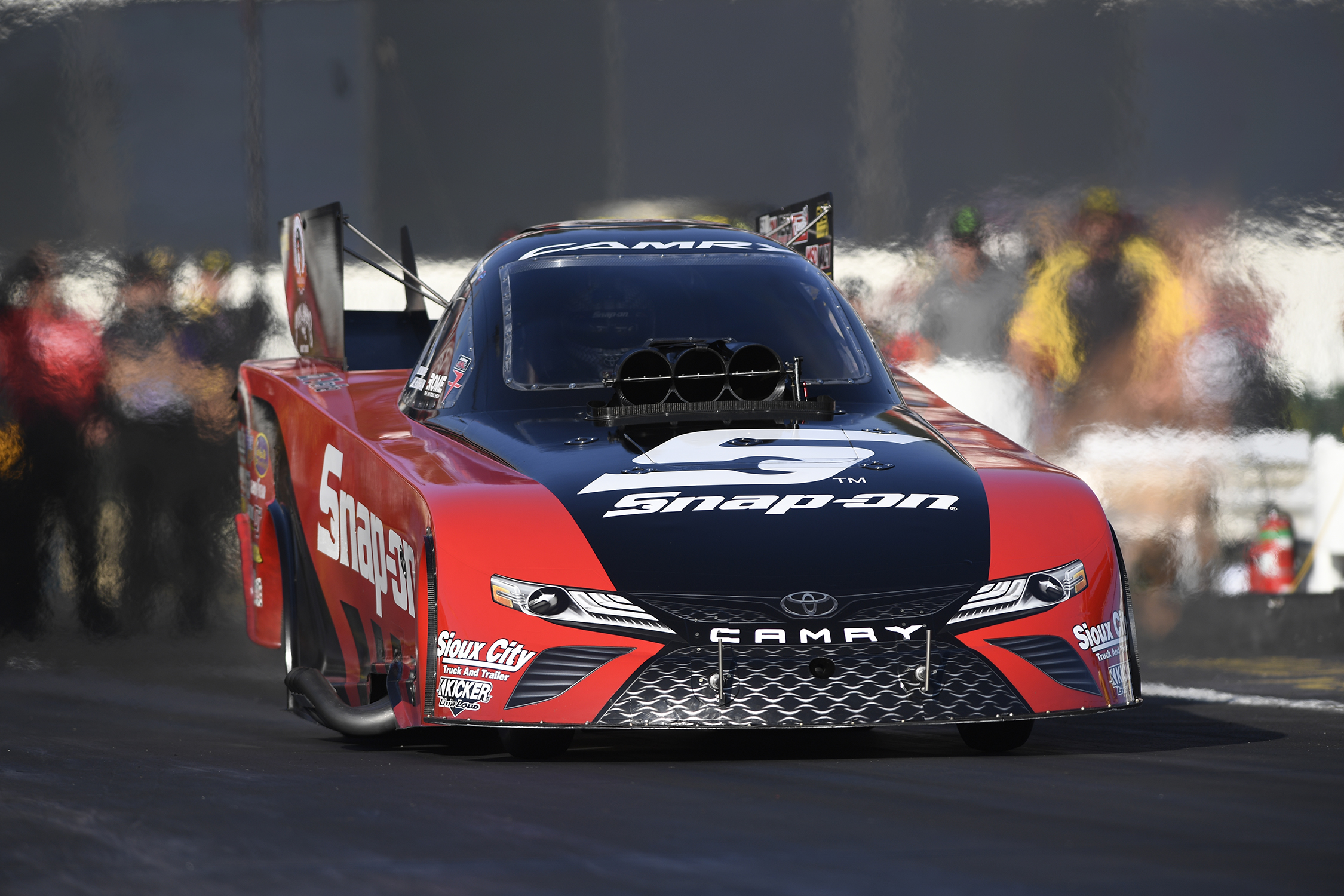 Pedregon Drives Camry To NHRA Four-Wide Nationals Victory In