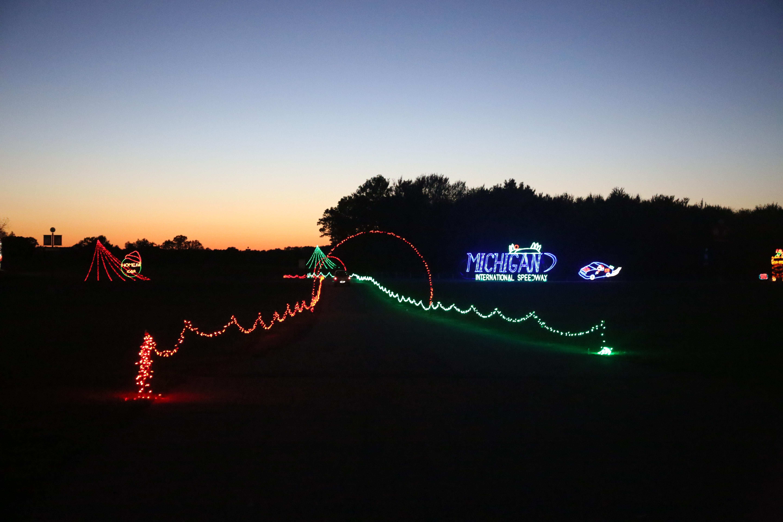 Nite Lites at Michigan International Speedway brings the holiday ...