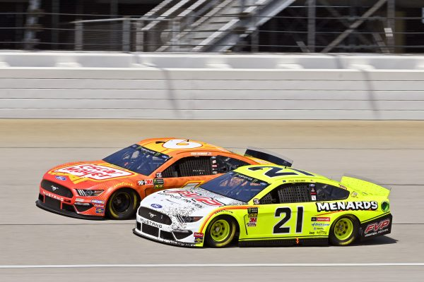 The 21 Menards/FVP Ford Mustang Finishes 21st at Chicago